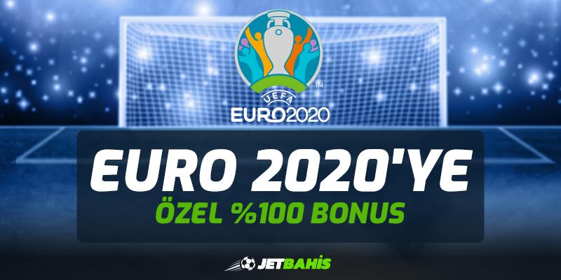 Jetbahis EURO 2020'ye Özel %100 Bonus